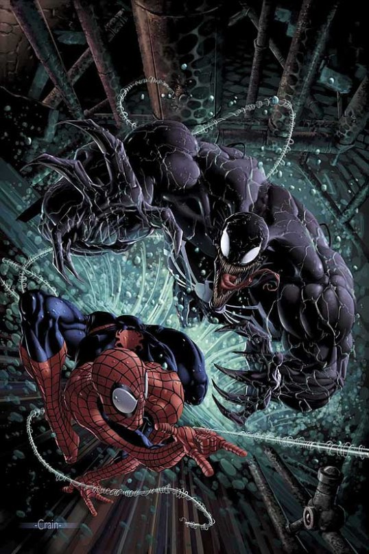 SPIDERMAN V VENOM